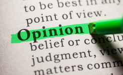 When opinions go underground