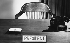 CV of a president